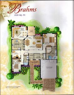 The Classical Collection Brahms Floor Plan in Solivita, Kissimmee FL
