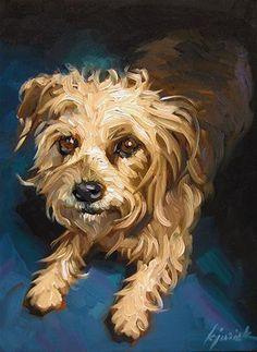 "Daily Paintworks - ""Max"" by Karin Jurick"