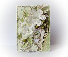Robótkowa kraina Oli, Card with flowers