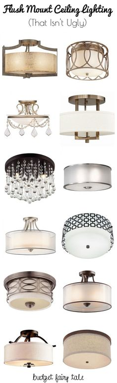 #ad Decorating our Castle: Seeking Flush Mount Lighting Options that Aren't Ugly:
