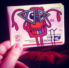hand-drawn-ty-sticker #CLOUDZbyTY