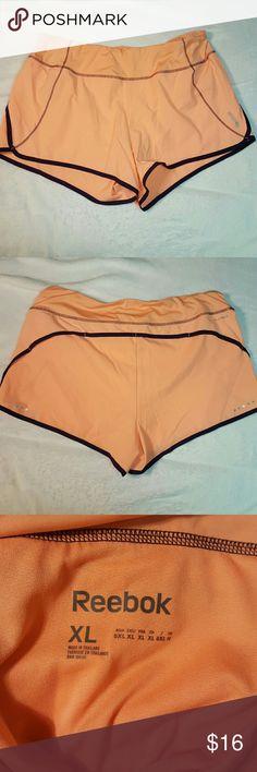 Reebok running shorts Sewn in underwear  Size xl Reebok  Never worn Washed Reebok Shorts