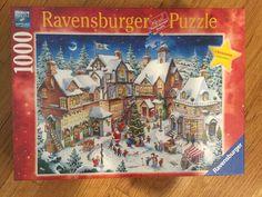 nib ravensburger 1000 piece limited edition santas christmas wonderland puzzle ravensburger - Ravensburger Christmas Puzzles