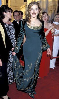 Kate Winslet indicada em 1997 por Titanic, Oscar