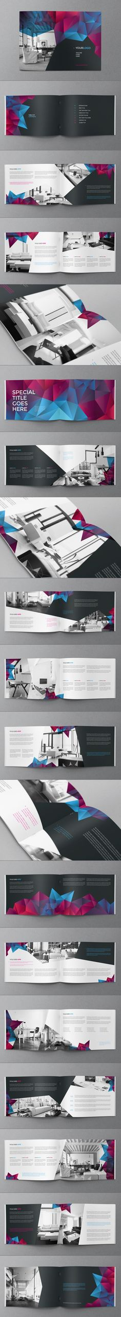 Cool Modern Brochure. Download here: http://graphicriver.net/item/cool-modern-brochure/7813777?ref=abradesign&utm_content=buffera0116&utm_medium=social&utm_source=pinterest.com&utm_campaign=buffer #brochure #design