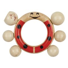 Play: Sugar Booger by Ore Ladybug Wooden Baby Rattle // http://ohjoy.blogs.com/my_weblog/2012/01/baby-registry.html
