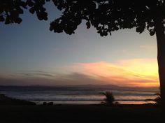 Perfect sunset at Puntarenas, Costa Rica