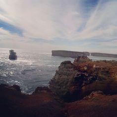 The end of Great ocean road part II -Thousand Bays panorama  #Australia #Victoria #greatoceanroad #12apostles #cliff #sea #seaside #coast #ocean #roadtrip #daytrip #drive #visitaustralia #visitvictoria #travel #travellife #traveller #sightseeing #waves #blueocean #summer #summerday #aussiesummer #filter #sierra #panorama #firsttimeinstagramingapanorama #barewithme by slimpt