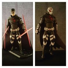 Red X (Teen Titans) Custom Action Figure