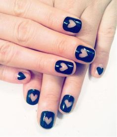 Only as an accent nail