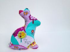 Bunny Plush Stuffed Minky Baby Toy Softie Pink by LittleSidekick, $14.00