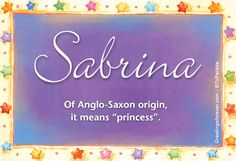 Name sabrina meaning Veronica Name Meaning, Meaning Of Your Name, Biblical Names, Name Origins, Say My Name, Character Names, Baby Girl Names, Printable Cards, Printables