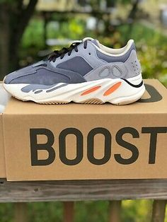 adidas Yeezy Boost Runners - Grey/Chalk White/Core Black for sale online Yeezy Sneakers, Adidas Sneakers, Stylish Letters, Michael Kors Men, Adidas Boost, Yeezy 350, Sneaker Boots, Yeezy Boost