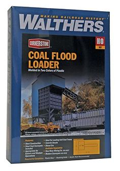 """Walthers HO Scale Cornerstone Series174 Coal Flood Loader 4 x 6 x 11"""" 10 ... NEW #Walthers"""