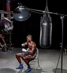 Lighting Setup for Photographing a World Champion Boxer
