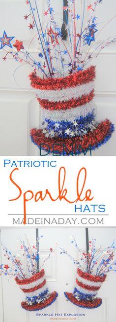 Sparkle Hat Explosio