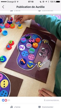 Kindergarten Math, Preschool Activities, Activities For Kids, Crafts For Kids, Material Didático, Saint Nicolas, Kids Education, Math Centers