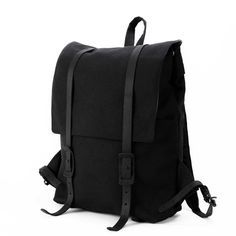 The Large Ruck   Black Canvas Backpack - STONE & CLOTH  The Large Ruck   Black Canvas Backpack - STONE & CLOTH  Classic Canvas Backpack, Travel bag, Rucksack, Fashion, Quality products, Made In USA, Handmade, Etsy, Laptop Bag, Macbook Backpack, Laptop Backpack, Black Canvas bag, Leather details, black leather, style,