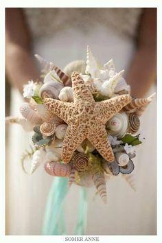 #Beach #Wedding bouquet