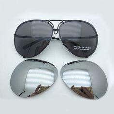 b8a3d63eee New Genuine Porsche Design P8478 69 MM Sunglasses Titanium Matt Black Men  Women  fashion