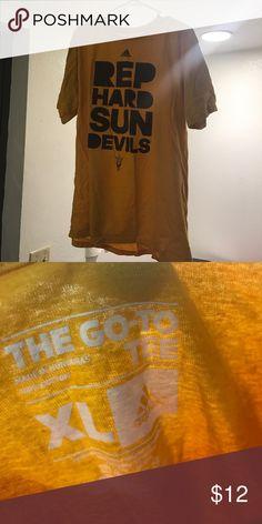 Arizona State Rep Tee Adidas Sun Devils Shirt Adidas Shirts Tees - Short Sleeve
