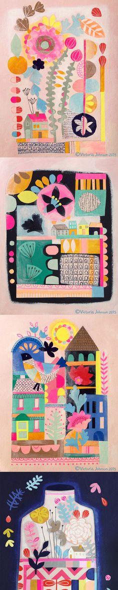 little houses tall pin