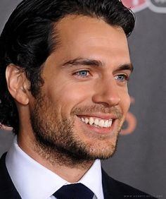 Henry Cavill  - Nice male primate canines!