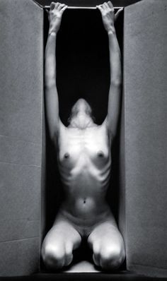 Ruth Bernhard :: In the Box - Vertical, 1962 / more [+] by this photographer