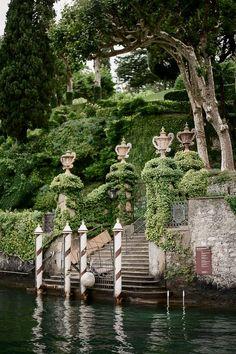 Water Gate of Villa Babianello, Lake Como