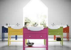 Ellis Committed to Colour with 30 Stunning Paints Bathroom Colors, Bathroom Ideas, Bathroom Furniture, Bathrooms, Colours, Interior, House, Inspiration, Decoration