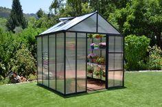 Köp - 13895kr! Växthus Glory - 6 m². Ett innovativt växthus med en tanke i synergin mellan material