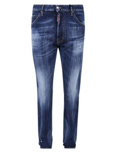 Jeans Button, Denim Jeans, Dark Wash Jeans, Dsquared2, Pockets, Guys, Model, Composition, How To Wear