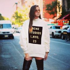 de58f277266424 New Studios Brand Printing Loose Cotton Long-Sleeve Pullover Sweatshirt Top  Shirt Women s duffle Sweater Coat Outwear Hoodies