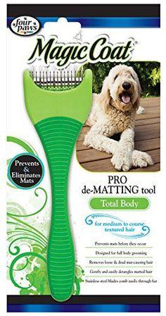 Four Paws Magic Coat Dog Grooming De Matting Tool, Fine to Medium Coat - http://www.thepuppy.org/four-paws-magic-coat-dog-grooming-de-matting-tool-fine-to-medium-coat/