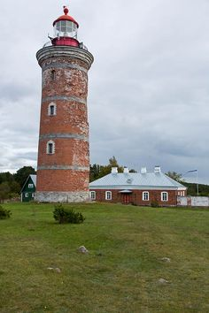 Mohni lighthouse - Mohni Island, Estonia