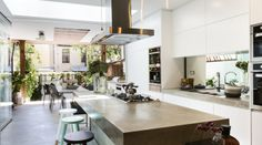 @ozziekath An idea of what people have done with the same space available.  Surry Hills - kitchen / garden
