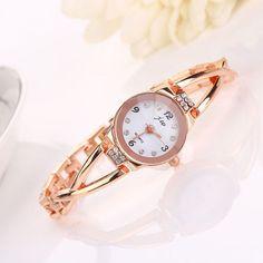 Damenuhr Armbanduhr Golduhr Strass Mode Fashion Watch
