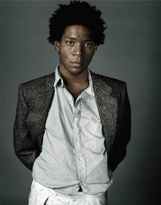 Basquiat, A Portrait, and Richard Corman, 1984 Jean Michel Basquiat Art, Radiant Child, Creative Portrait Photography, Creative Portraits, Neo Expressionism, Life Paint, Street Culture, People, Collection