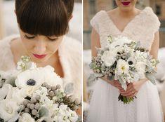 Hochzeit im Winter! Modern Rooftop Wedding Inspiration ~ Brooke Schultz Photography