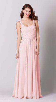 Sophia Chiffon Bridesmaid Dress