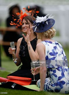 Champagne on the lawn on Ladies Day at Epsom Racecourse on June 2016 in Epsom, England. Get premium, high resolution news photos at Getty Images Epsom Derby, Race Day, Ascot, Kentucky Derby, Chester, Ladies Day, Lawn, Champagne