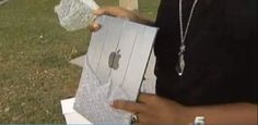 Woman Buys iPad For $200, Finds Out It's Just A Mirror With Duct Tape On The Back  Read more at http://www.cultofmac.com/200651/woman-buys-ipad-for-200-finds-out-its-just-a-mirror-with-duct-tape-on-the-back/#P8yxbjoWj8hb3rCq.99