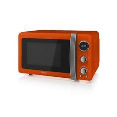 800w Digital Microwave (orange) - Microwaves - Products