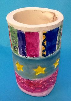 Emily D. Grade 7 (Functional Clay Cylinder)