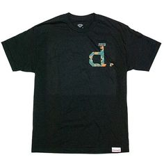 Un-Polo Camo Tee in Black by Dimond Supply Co.