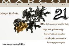 Gratuluję wytrwałości w robieni czegoś naprawdę pięknego. Galeria biżuterii  Margot studio to profesjonalizm, jakość i kompetencja.