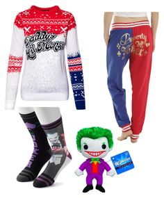 """""""joker christmas"""" by sushi20 ❤ liked on Polyvore featuring Funko"""