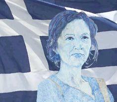 Marina vive in Grecia dal 2010. In Italia precaria, ad Atene è assunta a  tempo indeterminato. Faccia a faccia con la crisi vera,ha vinto lei.