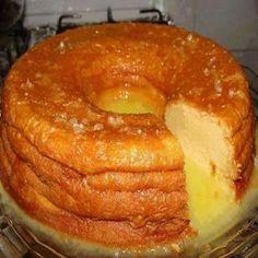 A Receita de Bolo Gelado de Laranja é deliciosa e fácil de fazer. A massa é macia e muito saborosa e a cobertura é prática e deixa o bolo molhadinho e muit