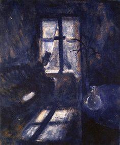 Night in Saint Cloud - Edvard Munch 1892
